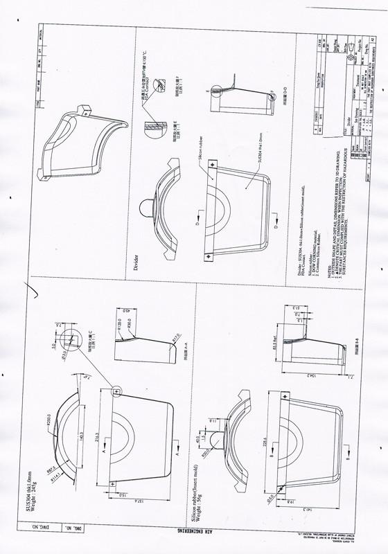 模具结构图解 拉伸经典