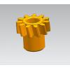 黄铜斜齿轮加工